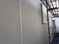 常陸太田市 H様邸 外壁目地補修(施工前・撤去・均し)