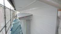 日立市 T様邸 外壁塗装(上塗り)