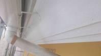 筑西市 N様邸 破風塗装(施工前・下塗り・上塗り)