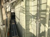 桜川市 N様邸 外壁塗装(高圧洗浄)
