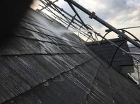 桜川市 N様邸 屋根塗装(高圧洗浄)