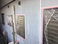 日立市 K様邸 外壁塗装(養生)