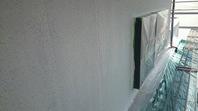 日立市 K様邸 外壁塗装(下塗り・中塗り)
