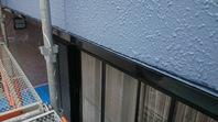 日立市 K様邸 水切り塗装(施工前・ケレン・下塗り・上塗り)