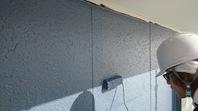 日立市 K様邸 外壁塗装(上塗)