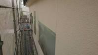 潮来市 W様邸 外壁塗装(養生)
