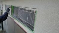 潮来市 W様邸 外壁塗装(下塗り・中塗り)