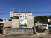 日立市 Y様邸 外壁塗装(架設足場組立)