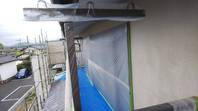 笠間市 K様邸 外壁塗装(養生)