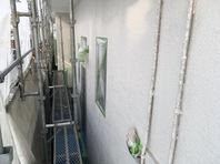 常陸太田市 O様邸 外壁塗装(養生)