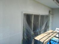 常陸太田市 O様邸 外壁塗装(下塗り)