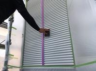 常陸太田市 O様邸 雨戸塗装(施工前・ケレン・下塗り・中塗り・上塗り)