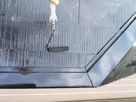 城里町 S様邸 屋根塗装(上塗り)