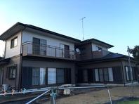 城里町 S様邸 屋根・外壁塗装(完成)