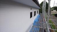 城里町 S様邸 外壁塗装(上塗り)