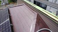 城里町 S様邸 屋根塗装(下塗り・中塗り)