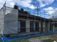 常陸大宮市 Y様邸 屋根・外壁塗装(架設足場組立)