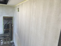 常陸大宮市 Y様邸 外壁塗装(下塗り・中塗り)