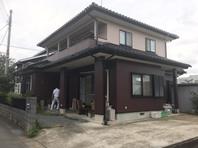 笠間市 I様邸 外壁塗装(完成)