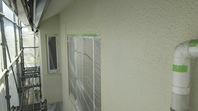 笠間市 M様邸 外壁塗装(上塗)