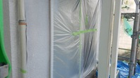 笠間市 M様邸 外壁塗装(下塗り)