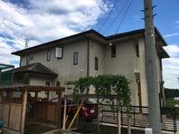 笠間市 W様邸 屋根・外壁塗装(着工前)