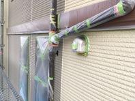 笠間市 W様邸 屋根・外壁塗装(養生)