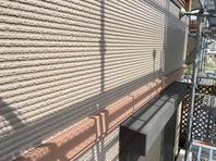 笠間市 W様邸 外壁塗装(上塗)
