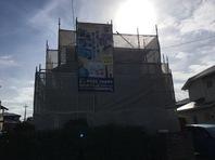 ひたちなか市 I様邸 屋根・外壁塗装(架設足場組立)