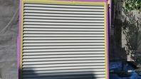 ひたちなか市 I様邸 雨戸塗装(施工前・ケレン下塗り・中塗り・上塗り)