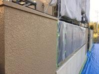 城里町 S様邸 外壁塗装(養生)