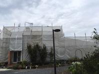 那珂市 M様邸 屋根・外壁塗装(架設足場組立)