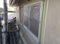 那珂市 M様邸 屋根・外壁塗装(養生)
