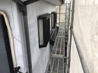 真岡市 T様邸 外壁塗装(養生)