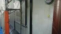 清原台 K様邸 外壁塗装(下塗り)