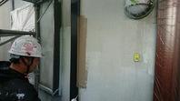 清原台 K様邸 外壁塗装(中塗り・上塗り)