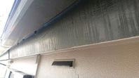 清原台 K様邸 破風塗装(ケレン・下塗り・上塗り)