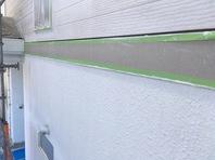 常陸太田市 S様邸 外壁塗装(下塗り)