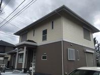 常陸太田市 S様邸 屋根・外壁塗装(完成)