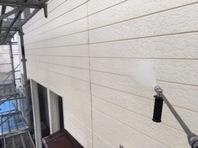 笠間市 S様邸 外壁塗装(高圧洗浄)