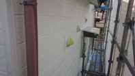 笠間市 S様邸 外壁塗装(下塗り)