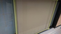 笠間市 S様邸 雨戸塗装(ケレン・下塗り・中塗り・上塗り)