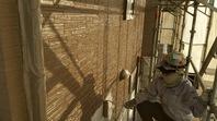 宇都宮市 K様邸 外壁塗装(中塗り・上塗り)