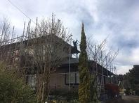城里町 I様邸 屋根・外壁塗装(架設足場組立)