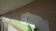 笠間市 O様邸 外壁塗装(下塗り・中塗り)