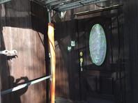 笠間市 M様邸 木製外壁・軒・破風(養生・下塗り)