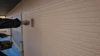 ひたちなか市 M様邸 外壁塗装(上塗り)