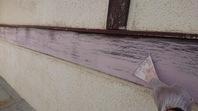 水戸市 M様邸 木破風・帯塗装(ケレン・下地処理)