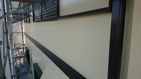 ひたちなか市 T様邸 外壁塗装(中塗り・上塗り)