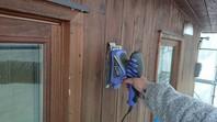 笠間市 M様邸 木製外壁塗装(ケレン)